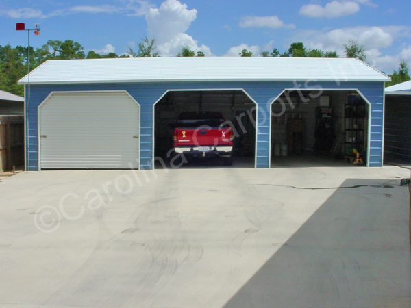 24' x 36' x 9' Boxed Eave Garage